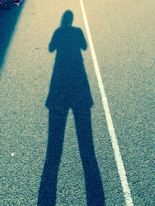 netballer's shadow